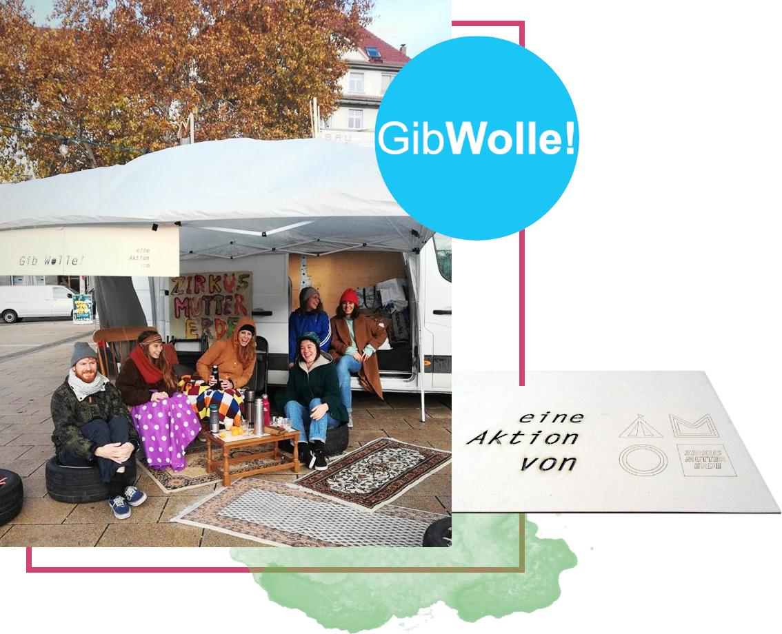 GibWolle für Menschen in Stuttgart